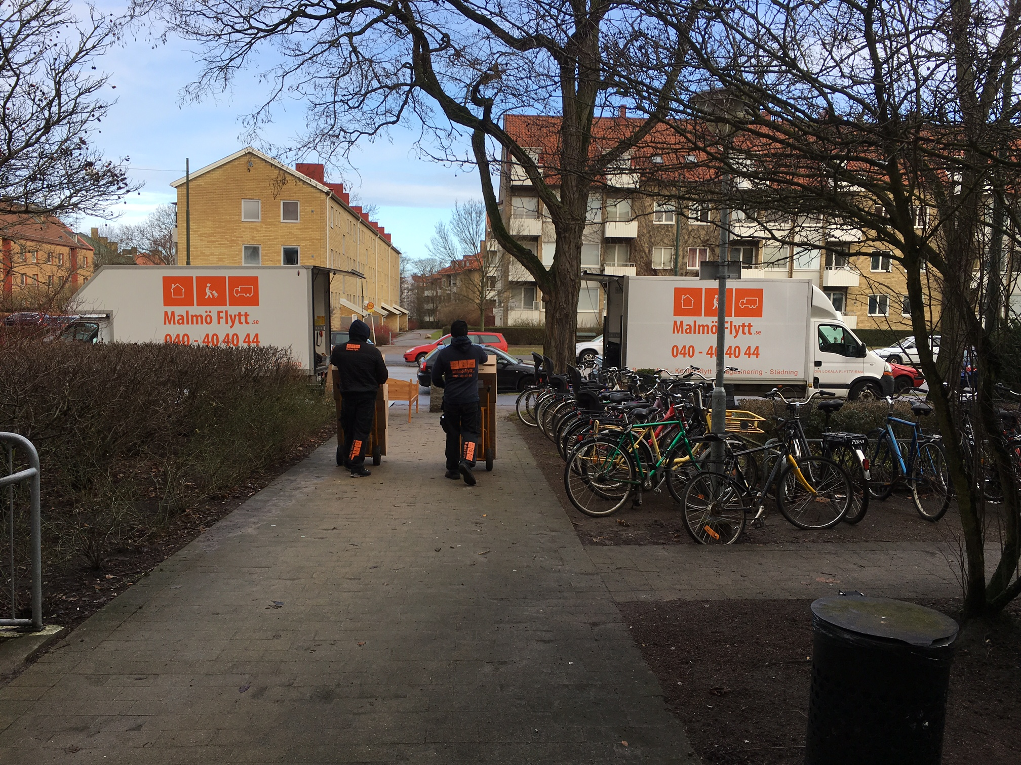 Magasinering Malmö